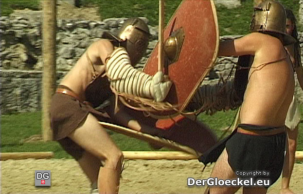 Gladiatorenkämpfe in Bad Deutsch Altenburg